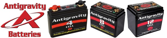 Antigravity Batteries 4 Cell 8 Cell 12 Cell Lithium Ion Motorcycles Cafe Racer