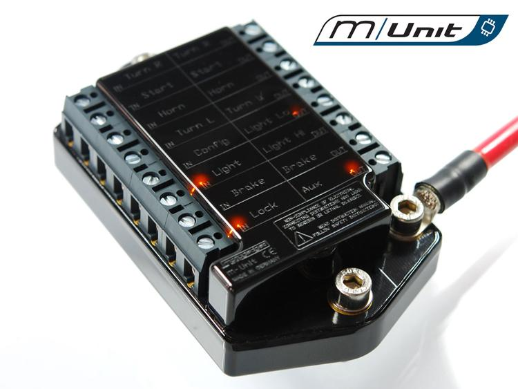 Motogadget Munit fuse box motorcycle moto teck motorcycle power distribution block universal motorcycle wiring harness at gsmx.co