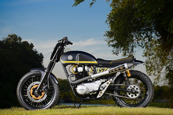 Dime City Cycles Scrambler