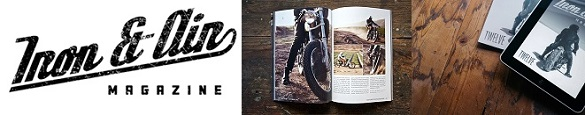 Iron and Air Magazine for Cafe Racers & Vintage Motorcycles