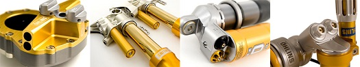 Ohlins Shock Cafe Racer Shocks All Balls fork Seals