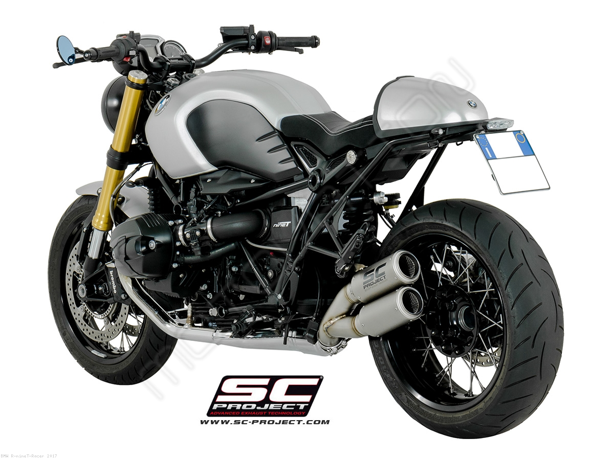 Bmw R Ninet Sc Project Exhaust System