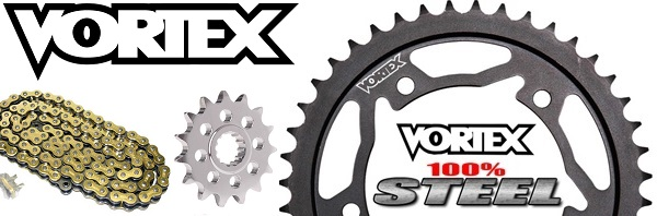 Vortex V3 520 Sprocket Chain Kits, Vortex Rear Sprocket