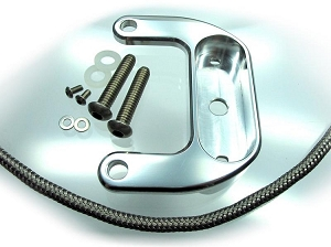 Motogadget Mini Harley Big Twin Rockerbox Bracket - Polished