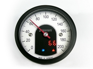 Motogadget Motoscope Tiny Speedo - Black