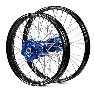 02-15 YZ125 / YZ250 Talon Evo Blue Billet Wheel Set 1.60x21