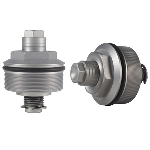Speed Merchent 49mm Preload Adjusters - Silver
