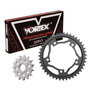 Vortex Racing 520 SV3 Superlite Sprocket & Chain Kit 03-06 CBR600RR