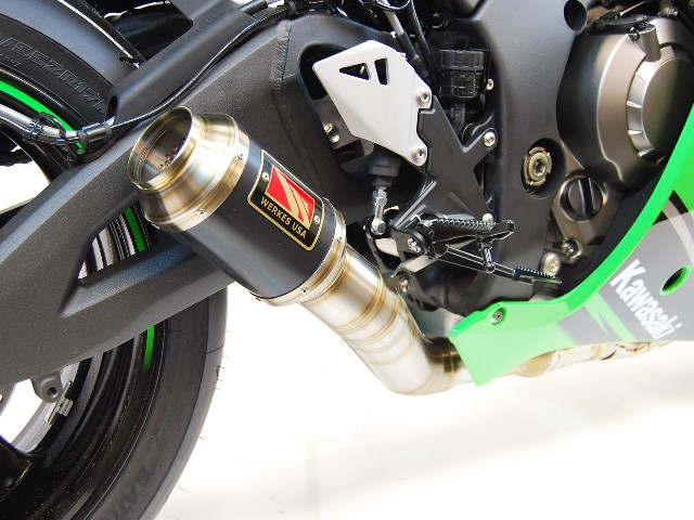 Competition Werkes Race Gp Exhaust 13 17 Kawasaki Zx6r 636