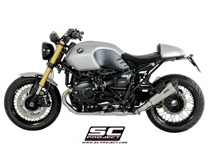 BMW R nineT SC-Project Conic Exhaust