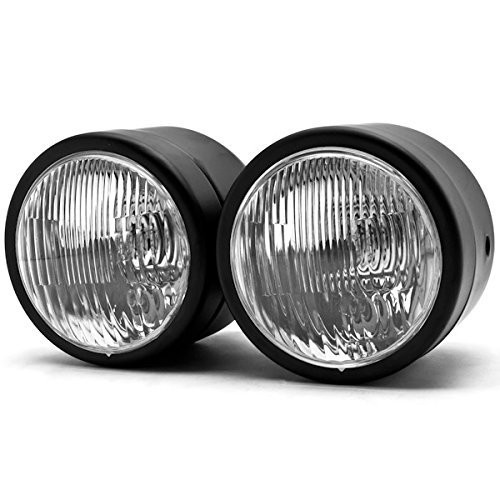 Dual Headlight Cafe Racer : Dual dominator quot headlights for streetfighters cafe racers