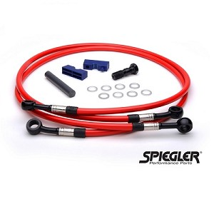 Spiegler Performance Front & Rear Brake Line Kit 07-08 ZX6R