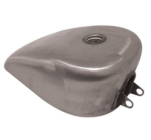3.1 Gal 82-03 Sportster Style King Gas Tank (Rubber Mount)