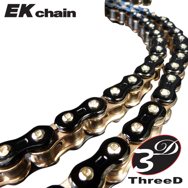EK 3D Motorcycle Chain