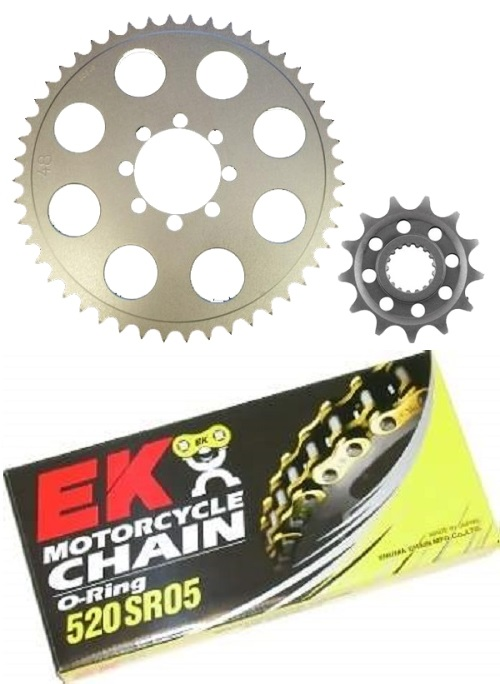CB350 520 Sprocket & Chain Kit
