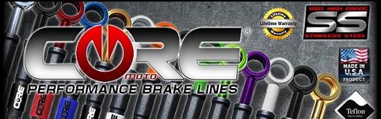 Core Moto Brake lines
