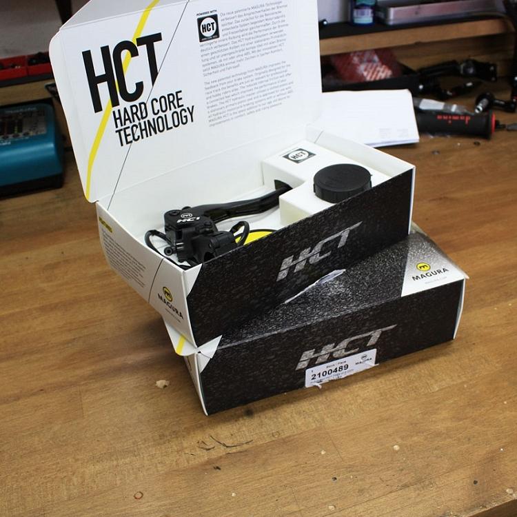 Magura Kupplungsarmatur hydraulisch Magura HC1 16mm LANGHEBEL DOT 2100457 210045