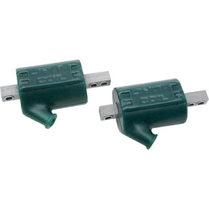 Dyna DC3-1 Green 3.0 Ohm Single Pole Ignition Coils