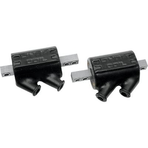 Dyna DC8-1 Black 5.0 Ohm Dual Pole Ignition Coils