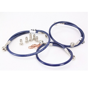 Galfer USA Front & Rear Brake Line Kit 08-10 GSXR 600 / 750