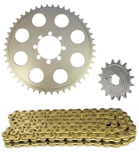 520 Sprocket & Chain Conversion Kit 72-74 CB350F
