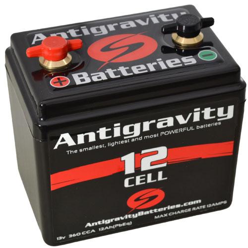 antigravity 12 cell motorcycle battery cafe racer bobber chopper streetfighter ebay. Black Bedroom Furniture Sets. Home Design Ideas