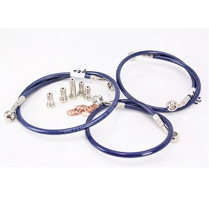 Galfer USA Front & Rear Brake Line Kit 06-07 GSXR 600 / 750